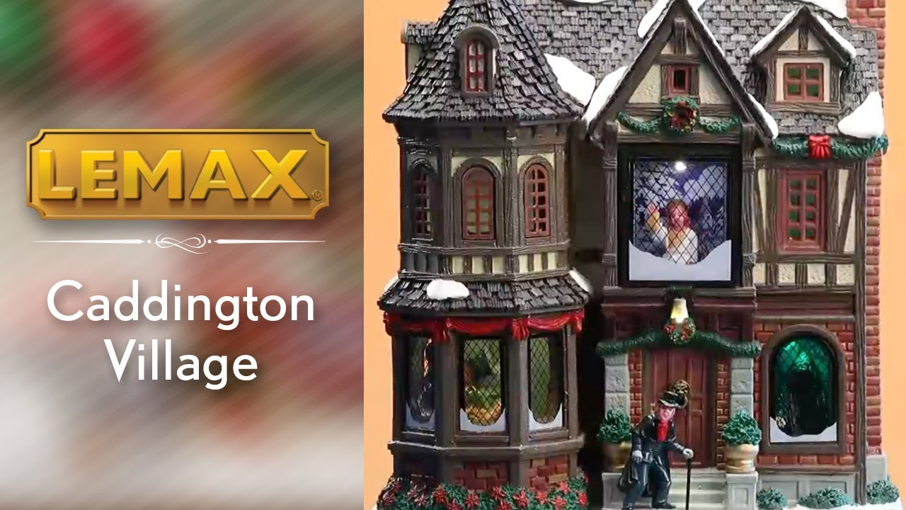 The Scrooge Lemax