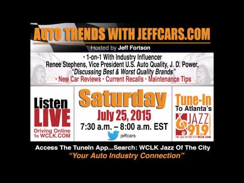 JeffCars.com 2015 J.D. Power Interview with Renee Stephens Talking Best & Worst Brands
