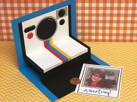 Instant Camera Pop Up Card Tutorial