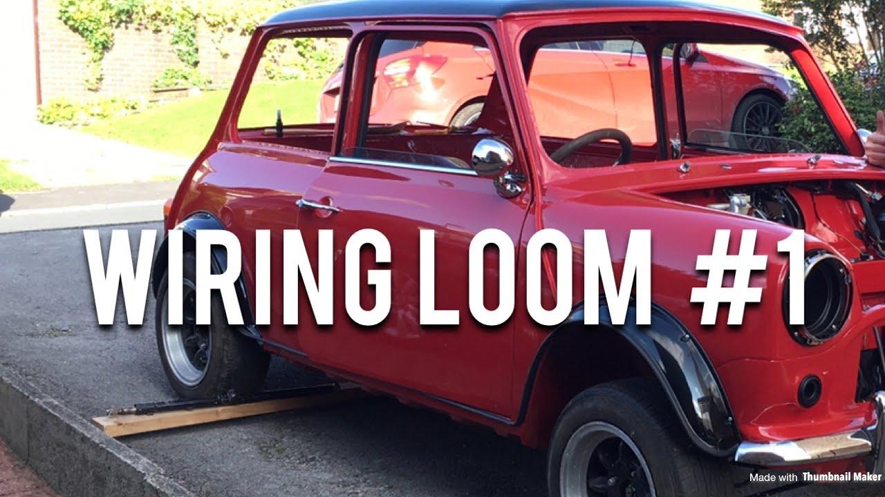 classic mini restoration wiring loom part 1 [ 1280 x 720 Pixel ]