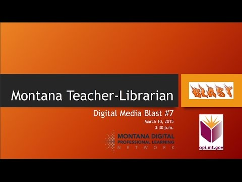 MT Teacher Librarian Digital Media Blast #7 - Collaboration