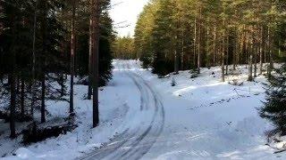 Dani Sordo Hyundai i20 WRC test for Rally Sweden 2016 + interview
