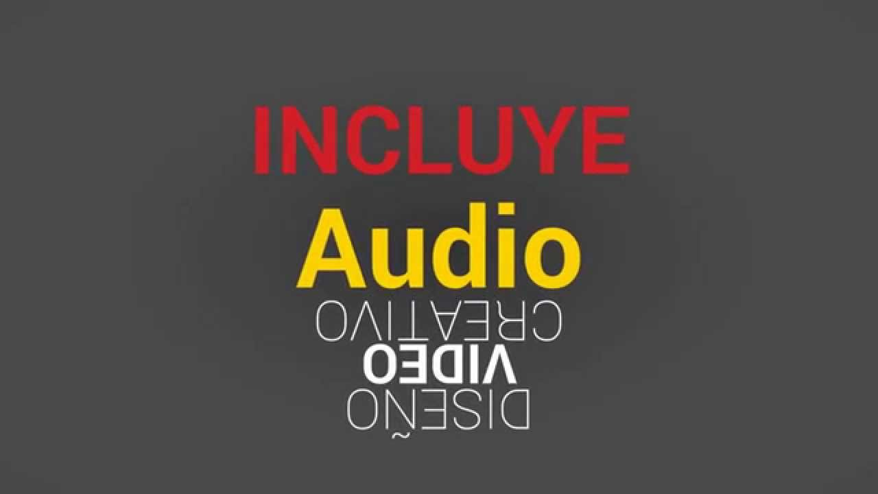 Video Marketing con Tipografía Cinética - YouTube