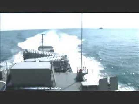 Royal Thai Navy exocet launch.