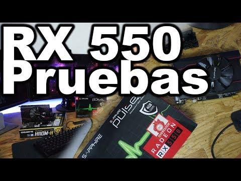 Económica pero poderosa RX 550 de 4GB - YouTube