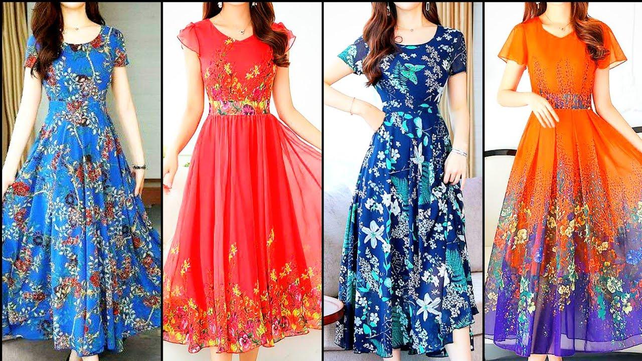 Gorgeou/Stylish/Latest/Chiffon summer ccasua Party & Actresses Club Dresses