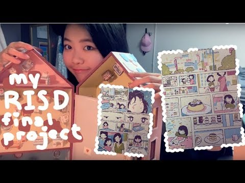 One Semester at RISD- My Design Final and Sketchbook!