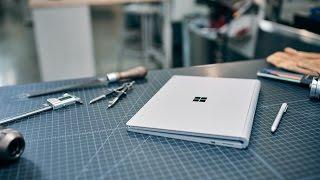 Microsoft Surfacebook behind the scenes in Redmond