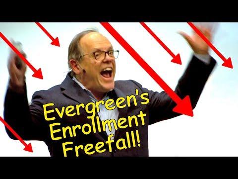 Evergreen's Enrollment Freefall (NEW DATA)