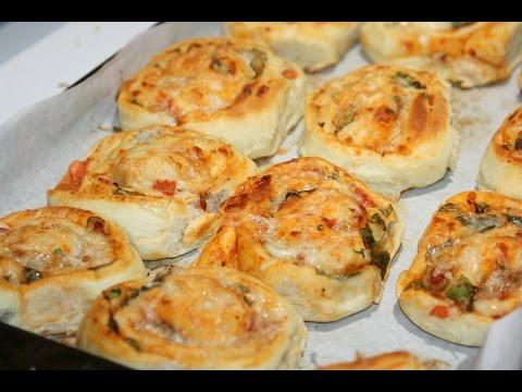 mini-pizzas-roulés---mini-pizza-rolls---بيتزا-رولي-رائعة