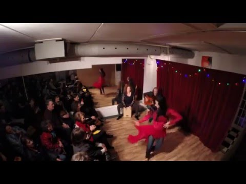 Toronto Flamenco Dancer Anjelica Scannura, Improvised Rumba Flamenca