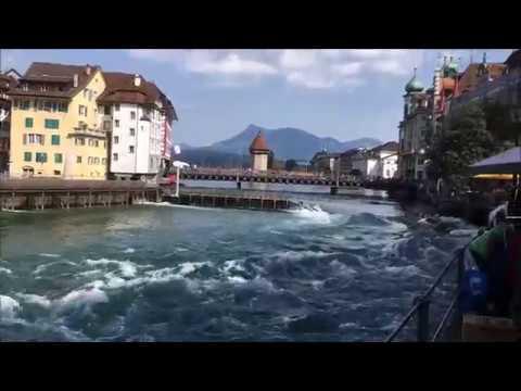 Luzern Schweiz - Lucerna Suiza - Cuidad muy bonita