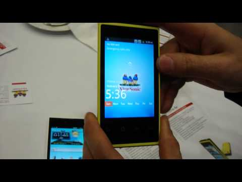 ViewSonic ViewPhone 4S - hands on walkthrough