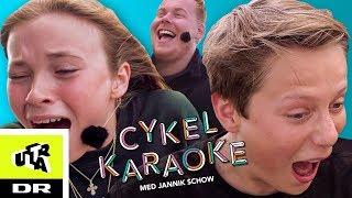 Albert og Anna Olympia fra Klassen i Cykel Karaoke | Ultra