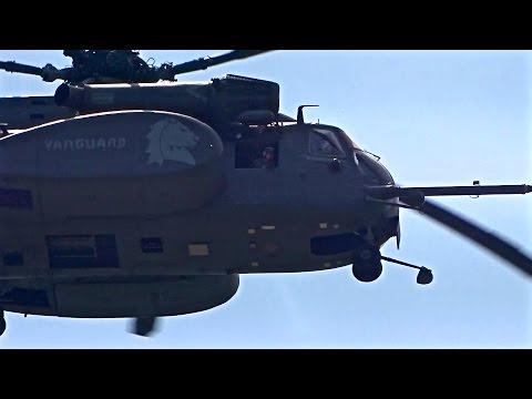 厚木基地の空-188 '15/7/20 (MH-53E HM-14 VANGUARDタップリ!C-17Aも)