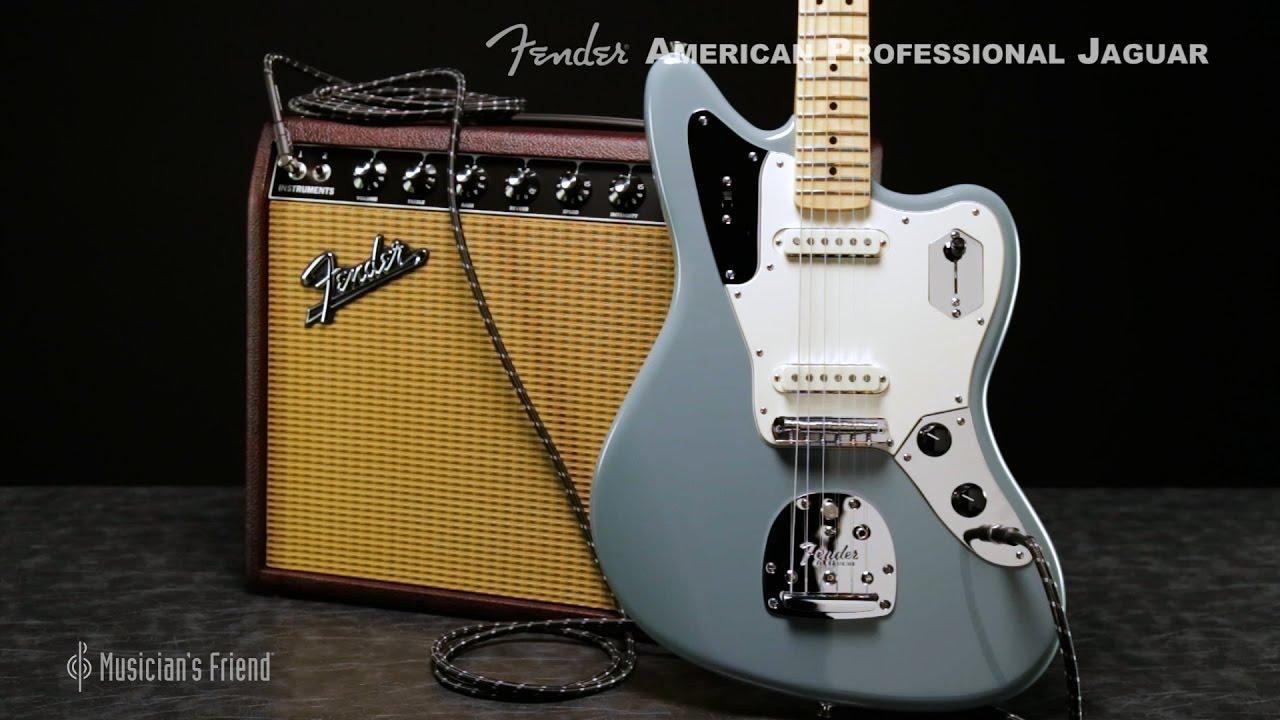 fender american professional jaguar electric guitar youtube. Black Bedroom Furniture Sets. Home Design Ideas