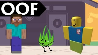 """You can hear Minecraft and Roblox """"Oof"""" In BFB 8"""
