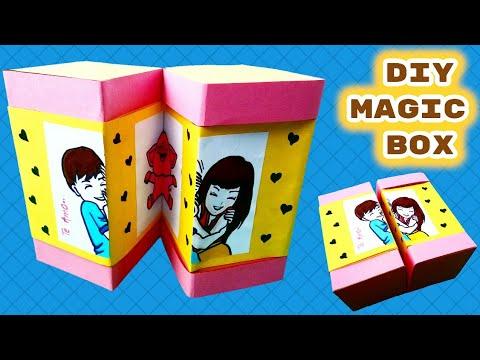 Diy Magic Box tutorial | Teachers Day Gift Ideas | Photocard
