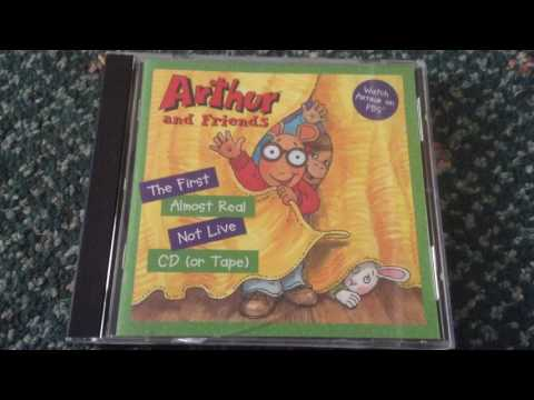Arthur And Friends: The First Almost Real Not Live CD (or Tape): Library Card