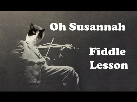 Oh Susannah - Basic Fiddle Lesson from YouTube · Duration:  7 minutes 37 seconds