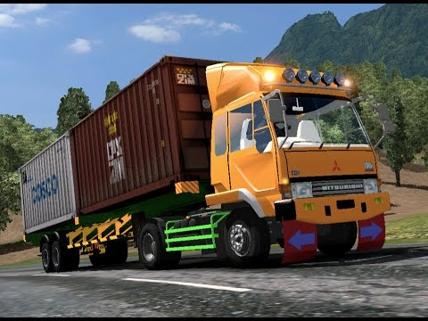 ETS 2 | Mitsubishi Fuso Fighter 4 x 2 MM Karoseri Trailer 15