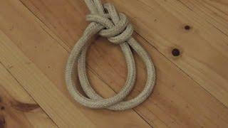 Learn How To Tie A Bowline On A Bight - WhyKnot