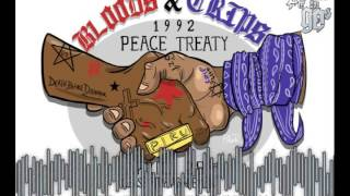 "Bloods & Crips West Coast Type Beat ""Bangin On Wax"" FL Studio Video"