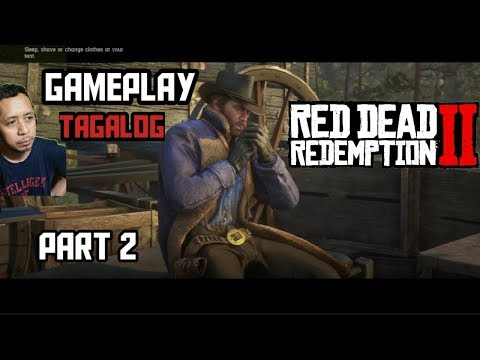 Red Dead Redemption 2 |Gameplay | Part 2 | Tagalog
