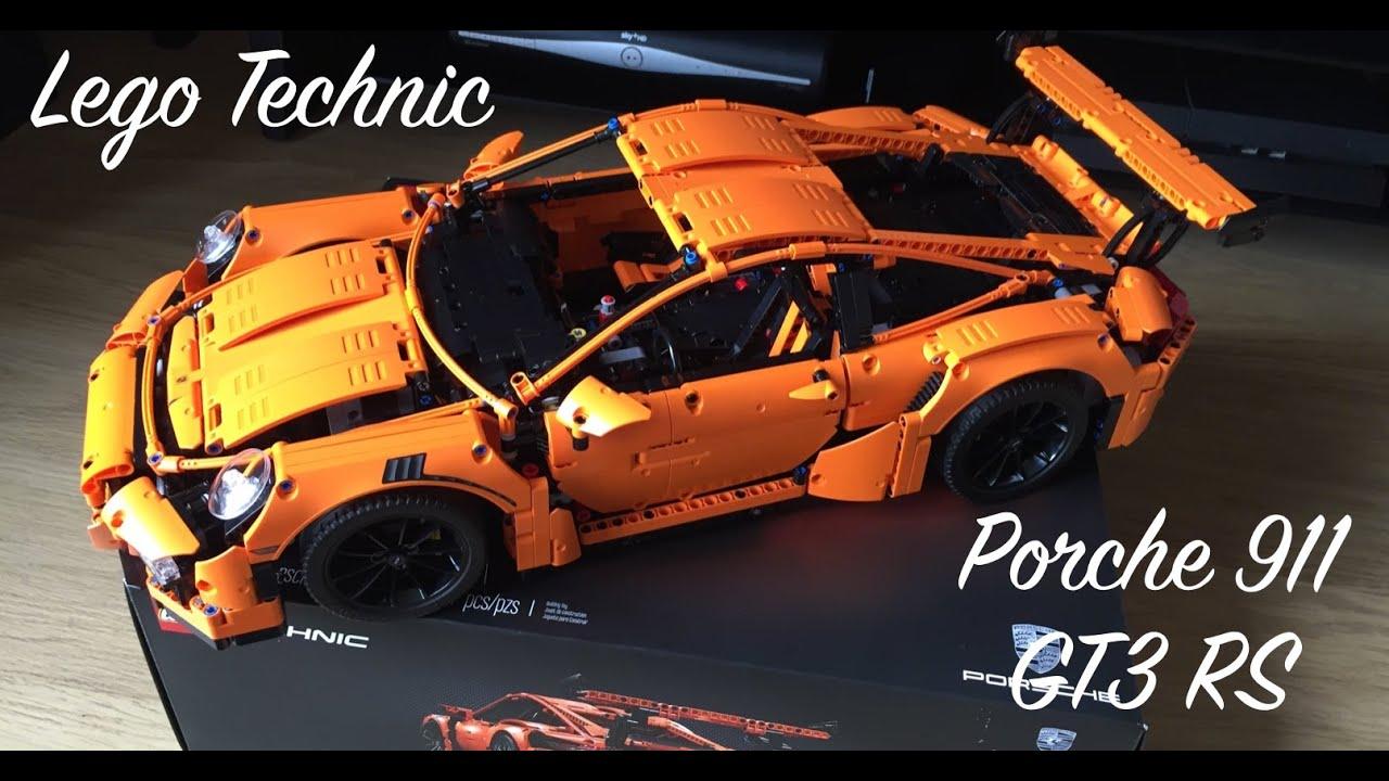 lego technic porsche 911 gt3 rs build youtube