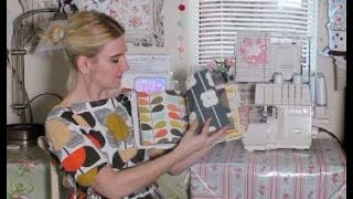 Sewing Vlog Episode 3 - More Orla Kiely and lots of Sewing Books