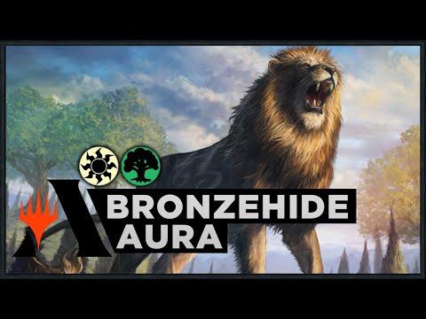Bronzehide Aura   Theros Beyond Death Standard Deck (MTG Arena)