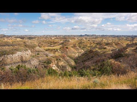Theodore Roosevelt National Park - North Dakota, USA 2019 UHD