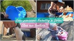 ENDLICH IM GARTEN!  Elisa bekommt einen Sandkasten?!    Reborn Baby Deutsch    Little Reborn Nursery