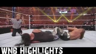 Shawn Michaels vs Undertaker WrestleMania 26 Highlights