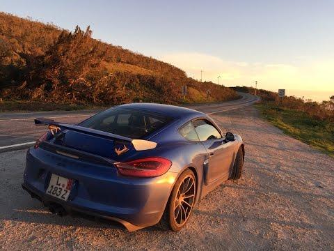 Porsche Cayman GT4 POV Intense Canyon Run- Is 2nd gear REALLY too tall?