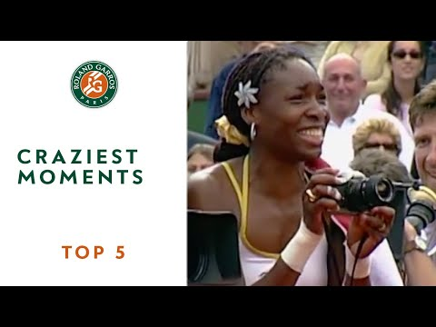 Top 5 moments at Roland Garros - Completely crazy