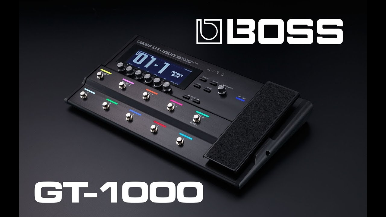 New BOSS GT-1000 Guitar Effects Processor | Page 214 | The