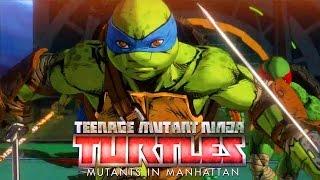 TEENAGE MUTANT NINJA TURTLES: Mutants in Manhattan   Announce Trailer (2016)