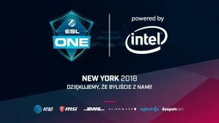 ESL One New York 2018 | zamknięte europejskie kwalifikacje | Dzień 1