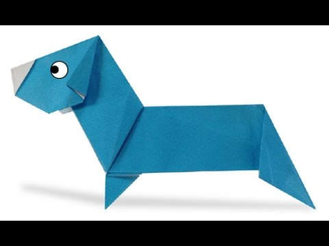 How To Make Origami Dachshund 2 Youtube