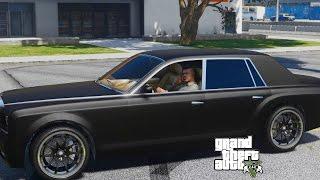 GTA 5 REAL LIFE MOD#48-UBER DRIVER JOB!