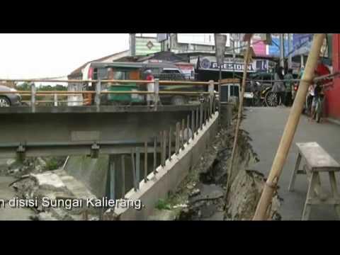 Brebes Selatan Dilanda Longsor Jembatan Kota Bumiayu Terancam, Puluhan Hektare Sawah Rusak