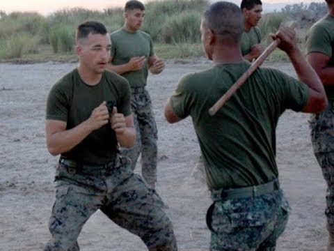 US  Army Rangers In Combat Training