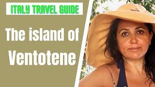 Ventotene Island in Italy