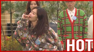 [HOT CLIPS] [RUNNINGMAN]  | DANCE QUEEN HyunA dances 'FLOWER SHOWER' 💙💚💛💜 (ENG SUB)