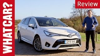 Toyota Avensis review - What Car?
