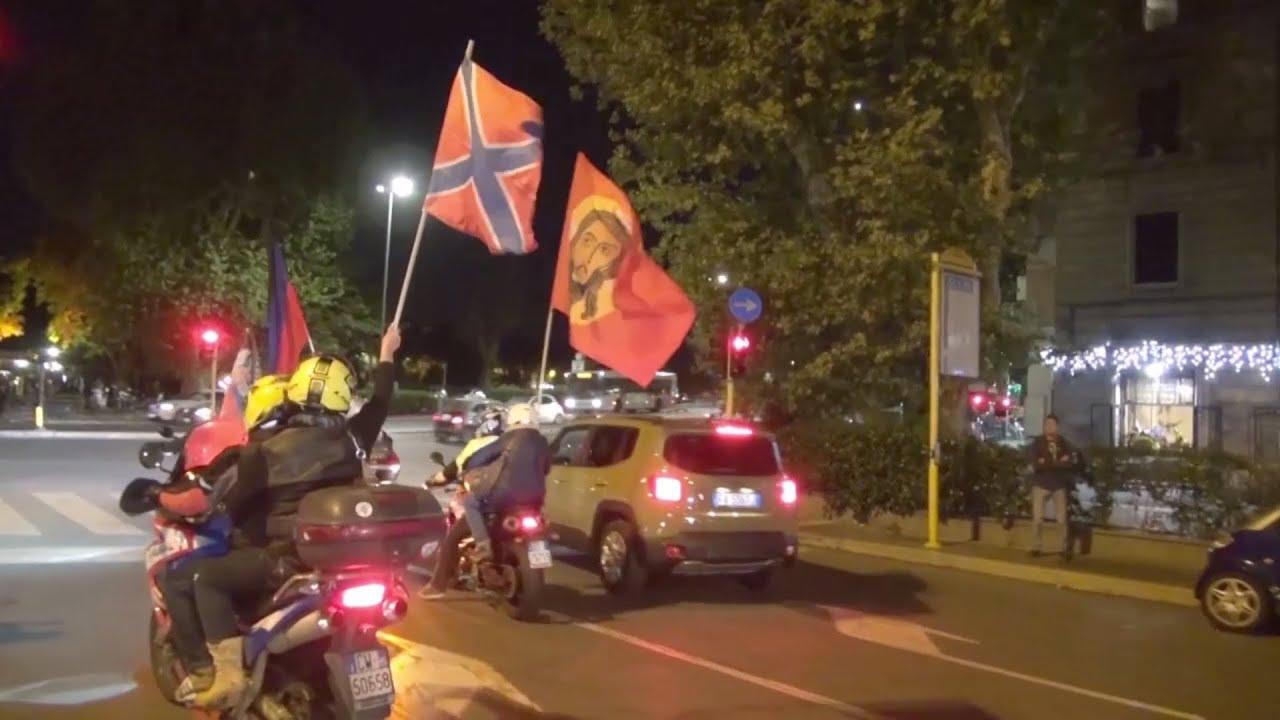 Байкеры — детям Донбасса: итальянцы собрали гумпомощь школьникам ДНР и ЛНР