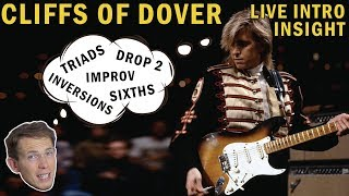 Baixar How ERIC JOHNSON Uses SPREAD VOICED TRIADS in Cliffs Of Dover | Guitar Lesson