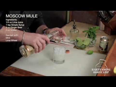 Moscow Mule Cocktail - Bartending Bootcamp