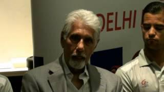 G Force Cricket Academy Present Delhi Daredevils Cricket Clinic   Shyam Bhatia